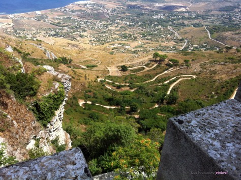 Road that leads to Erice