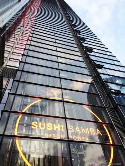 Sushi Samba at Herloin Towe