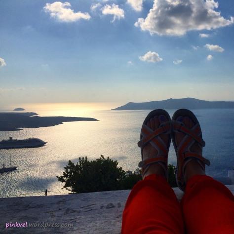 Relax in Santorini