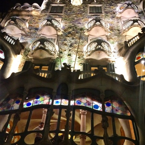 Gaudi's Casa Battló, Barcelona